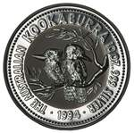 1994 10oz Silver Kookaburra proof coin in capsule, without certificate.