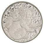 2008 1kg Silver Koala proof coin in capsule, without certificate. Capsule with tiny crack.