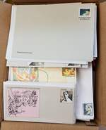 Accumulation of 2,109 mint Pre-Stamped Envelopes from 1978 to 2007. See scans on our web site for a full listing of values. Face Value $595.00.