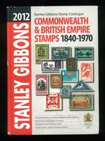 Stanley Gibbons 2012 British Commonwealth Catalogue covering stamps from 1840 to 1970 in reasonably good condition.