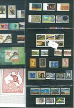 Collection of MUH stamps and miniature sheets from 1981 to 2014. Face Value $1,940.00.