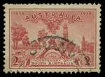 1936 2d Red S.A. Centenary with an early state of the