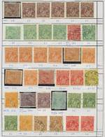 Accumulation of mint and used stamps on circuit sheets with strength in Kangaroo and KGV issues and numerous Perf OS, but includes a range of better Pre-Decimal issues and a sprinkling of Decimal. Many useful items with a high retail value, inspection will reward. Priced to sell some years ago at $10,489.00. Very high catalogue value.