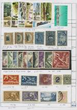 Selection of MUH, MLH and fine used stamps with many better and highly catalogued issues on a large bundle of 280 circuit sheets, priced some years ago to sell at $8,980.00. Noted a good range of Cuba, Czechoslovakia, Ireland, Israel, Italy and Italian Colonies, Japan, Latin America, Netherlands, Spanish Colonies, U.S.A., British Commonwealth countries and more. Catalogue Value over £20,000.00.
