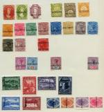 Selection of 31 different stamps from 1865 to 1900 O/P Specimen or Reprint including 1870 4d Blue Queen Vic O/P Reprint, 1870 10d Black Queen Vic with double Specimen O/P and 3 Postal Fiscal issues. 1897 5/- Queen Vic Tablet with vertical crease, otherwise lovely fresh condition.