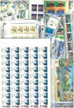 Accumulation of MUH Decimal stamps and miniature sheets in singles, blocks and sheets. Face Value $3,015.00.